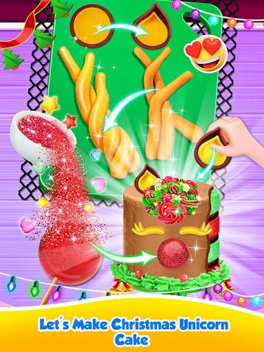 Unicorn Food - Sweet Rainbow Cake Desserts Bakery 2.7 screenshots 12