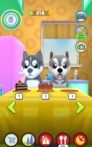 Talking Husky Dog 2.25 screenshots 14