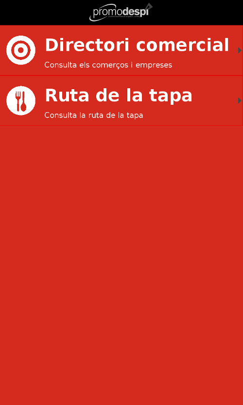 Скриншот Comerç Despi