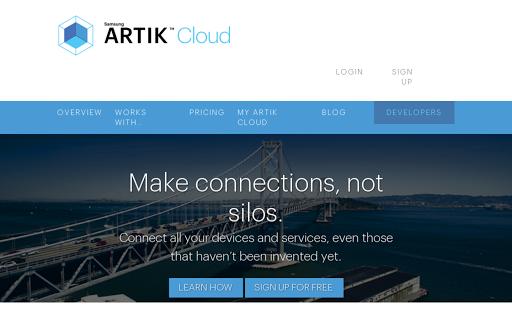 Samsung ARTIK Cloud cover image