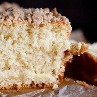 Sweet Yeast Rhubarb Cake.
