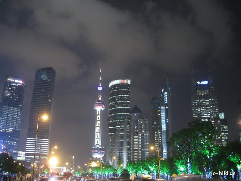 Photo: Skyline by night (Shanghai/China - October 2010)