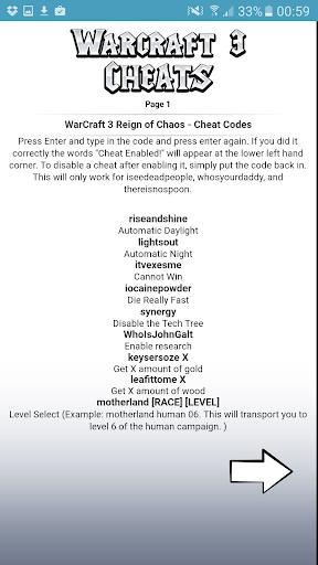 All <b>WarCraft 3 Cheat Codes</b> APK download | APKPure.co