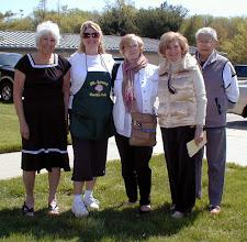 Photo: Committee: Jean, Debra, Kathy, Arlene, Sandy