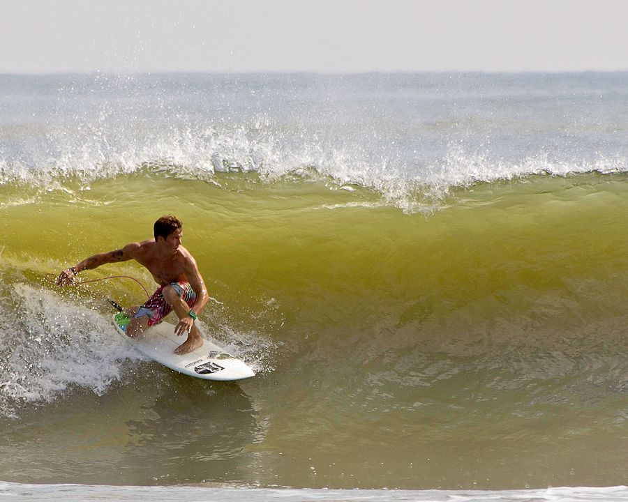 Riding in the slot............ by Ray Smith - Sports & Fitness Surfing