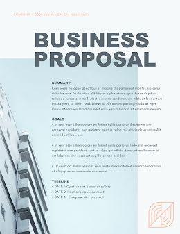 Sharp Proposal - Business Proposal item