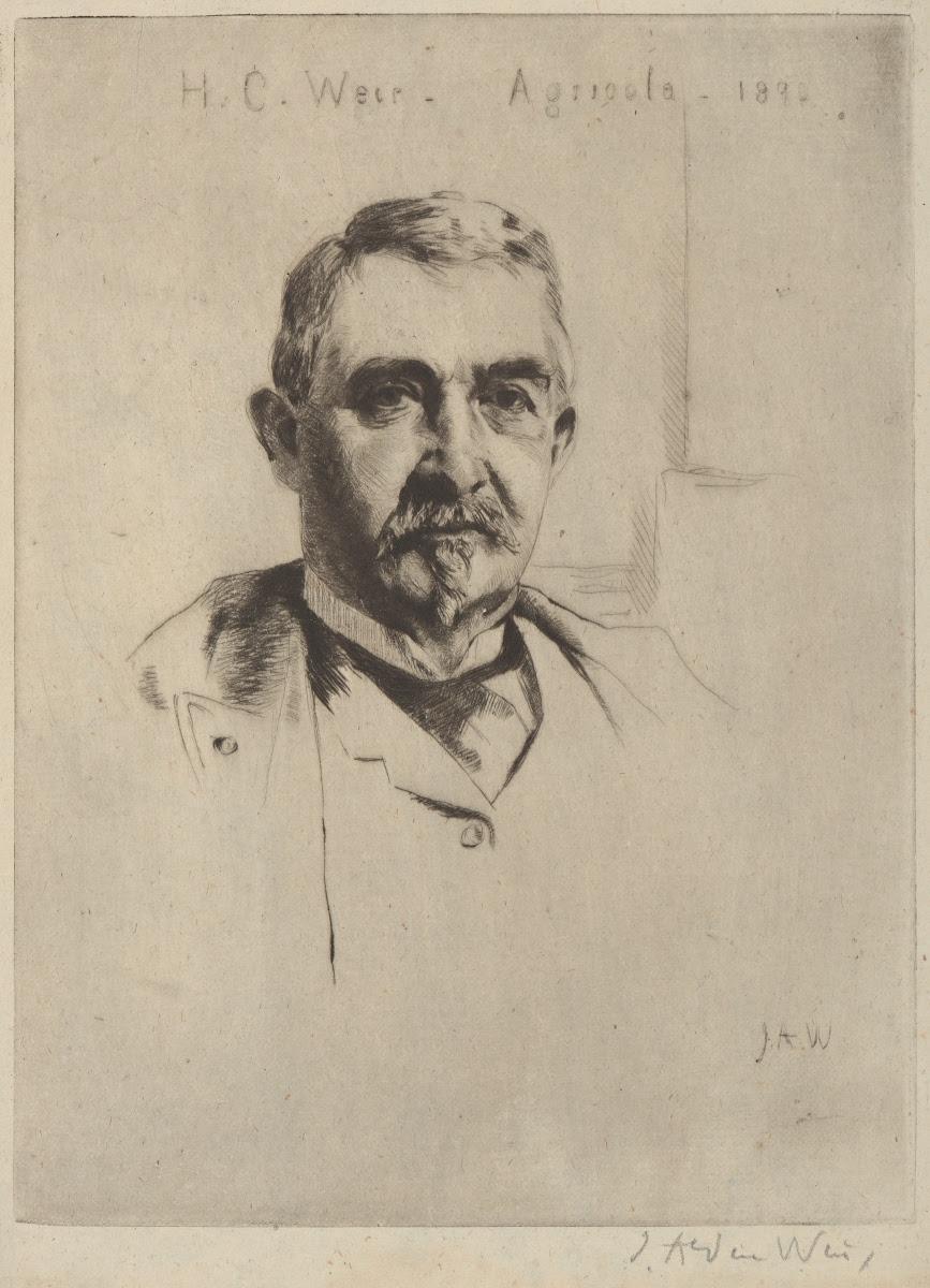 J Alden Weir Portrait