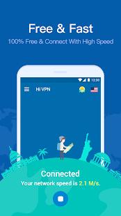 App Hi VPN, Free VPN – Fast, Secure and Unlimited VPN APK for Windows Phone