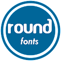 Round Fonts for FlipFont
