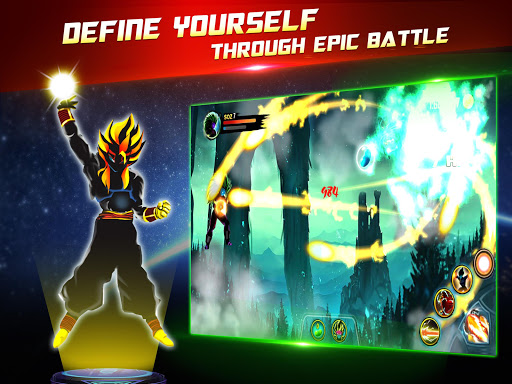 Dragon Battle Legend: Super Hero Shadow Warriors 3.0 screenshots 8