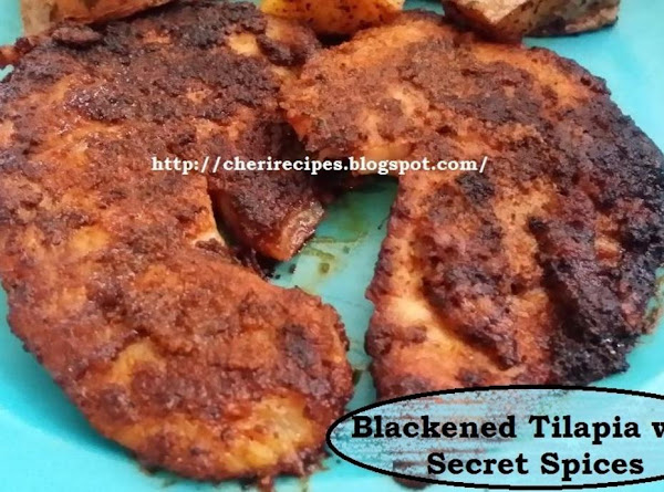 Blackened Tilapia With Secret Spices Recipe