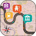 GPS Route Finder icon