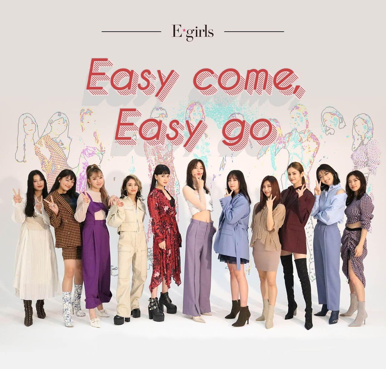 """Imagem promocional do single digital """"Easy come, Easy go""""."""