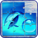 Dolphins Jigsaw Puzzle Game icon