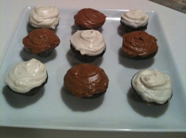 Chocolate Guinness Cupcakes W/ Salted Caramel Frosting & Cream Cheese Frosting Recipe
