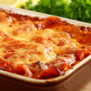 Lasagne All Amatriciana.