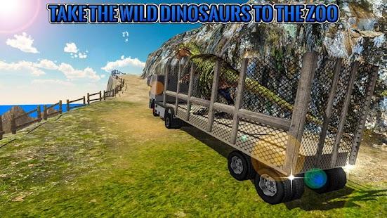 Dinosaur Zoo Transport Truck - náhled