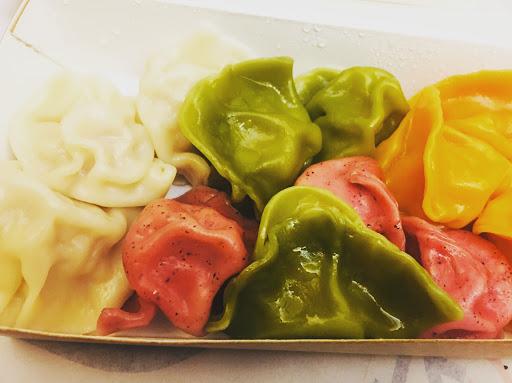 色誘水餃,很吸睛,也很可口! #陳水餃大王 #武廟市場