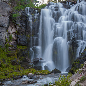 by Mike Lee - Landscapes Waterscapes ( moving water, nature, lassen volcanic national park, outdoors, waterfall, water fall,  )