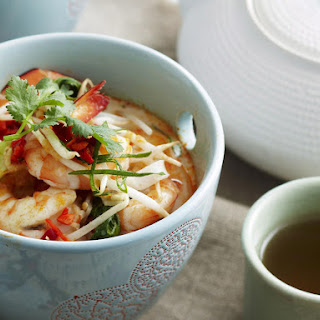 Shrimp Laksa - Spicy Shrimp Noodle Soup.