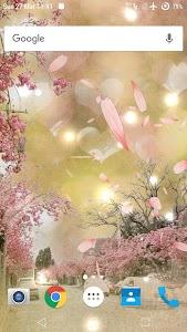 Sakura Live Wallpaper screenshot 3
