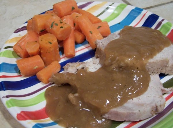 Pork Roast With Gravy Recipe