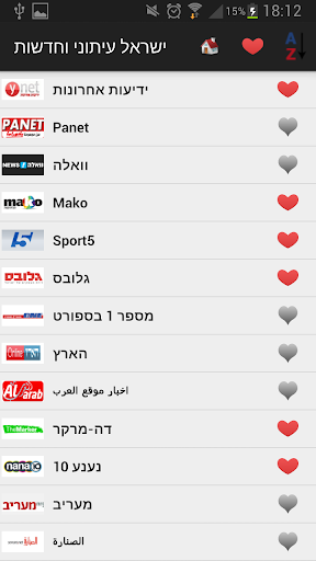 ישראל עיתונים וחדשות