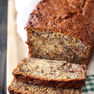 Butter Pecan Banana Bread