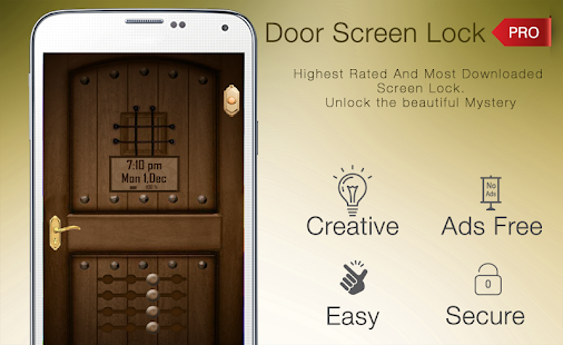 Door Lock Screen Pro - Fingerprint support Screenshot