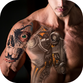 3D Tattoo Design App icon