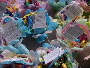 Photo: May Baskets April 21, 2013 for United Way's Star Project Competition.