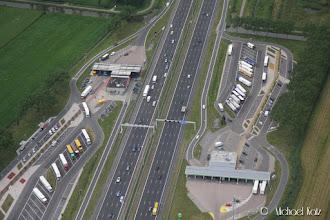 Photo: Vi suser avgårde i 105 kt på tvers over fra nordøst til sørvest i Nederland på 1.5 time.