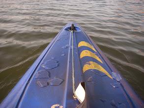Photo: Troszkę lodu na łódce