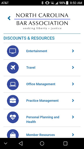 ncba member benefits screenshot 2