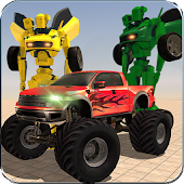 Robo Transporter Monster Truck