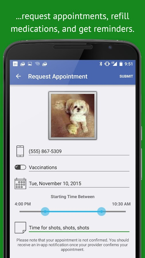 PetDesk- screenshot