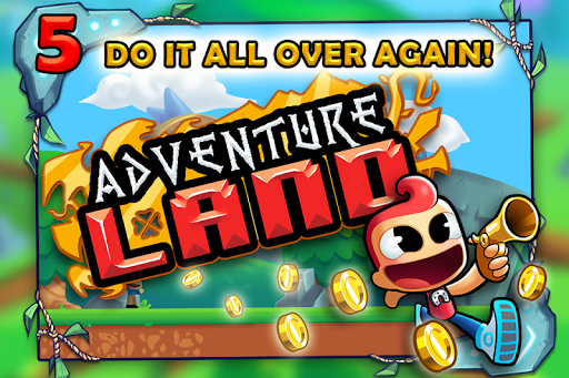 Adventure Land - Wacky Rogue Runner Free Game screenshot 6