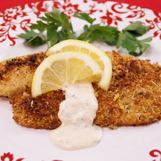 Herb Crusted Tilapia.
