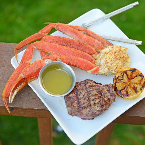 Quick and Easy Surf and Turf on a Gas Grill Recipe