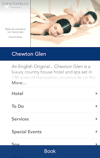Chewton Glen Hotel Spa