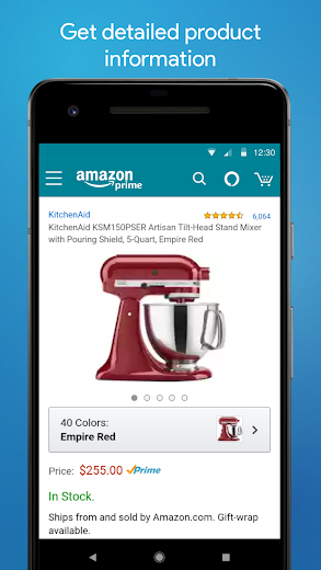 Screenshot 6 for Amazon's Android app'