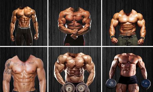 Body Builder : Photo suit