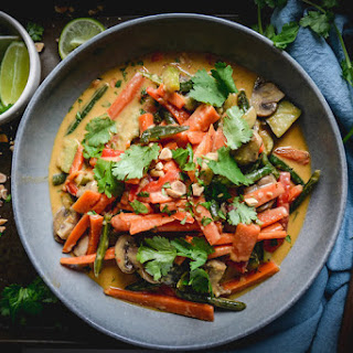 Vegetable Coconut Curry Recipe