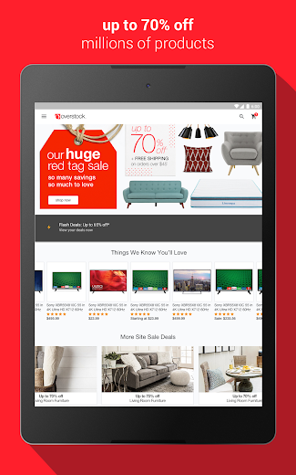 Screenshot 5 for Overstock.com's Android app'