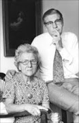 Ilse Naude with husband Beyers.