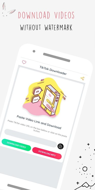 TikDl - Music & Video Downloader For tik tok – (Android