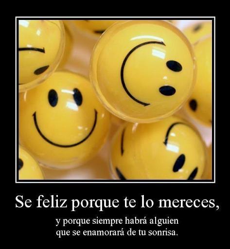 Frases y fotos de Felicidad