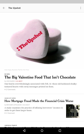 Screenshot 17 for The New York Times's Android app'