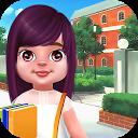 Cute Girl in High school - School Day Care Routine APK