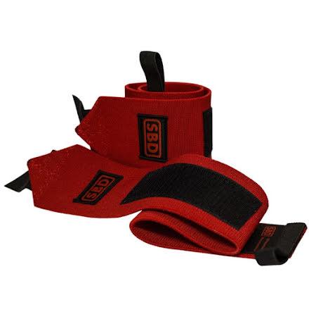 SBD wristwrap stiff, Red/Black